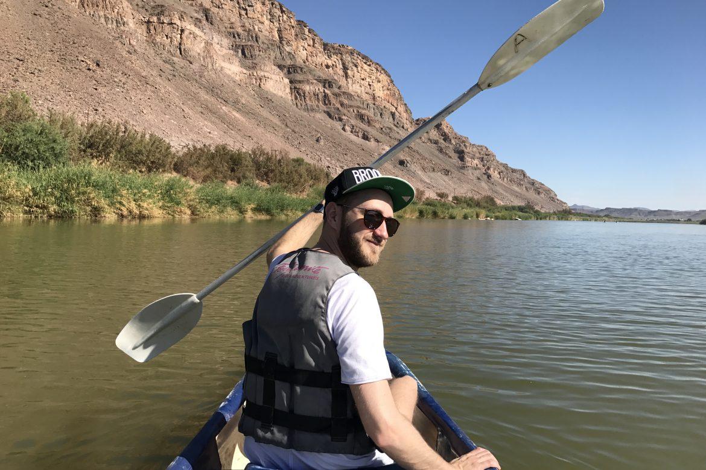 Orange River und unser erstes Zelterlebnis